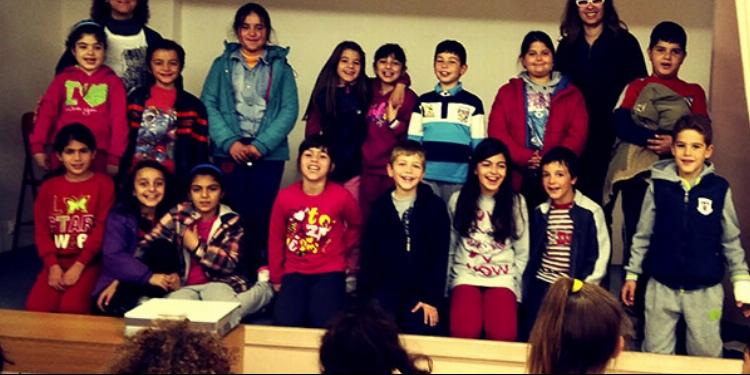 Παρουσίαση της Επιστημονικής Ομάδας ΛΟΓΩ ΔΙΑΤΡΟΦΗΣ με θέμα: «Ελιά & Ελαιόλαδο» σε μαθητές Δημοτικού